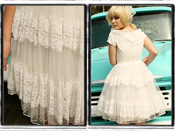 short-vintage-lace-tulle-upcycled-wedding-dress-lynnsrags2